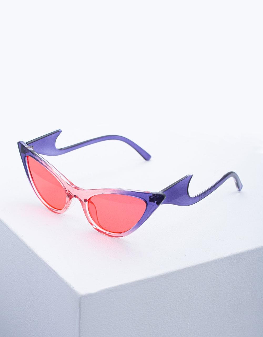 Εικόνα από Γυναικεία γυαλιά ηλίου με σχέδιο στο σκελετό Multi