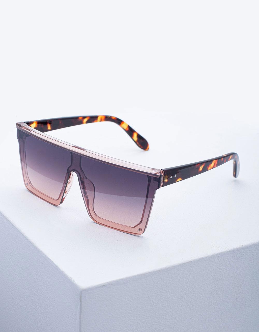 Εικόνα από Γυναικεία γυαλιά ηλίου oversized Ροζ