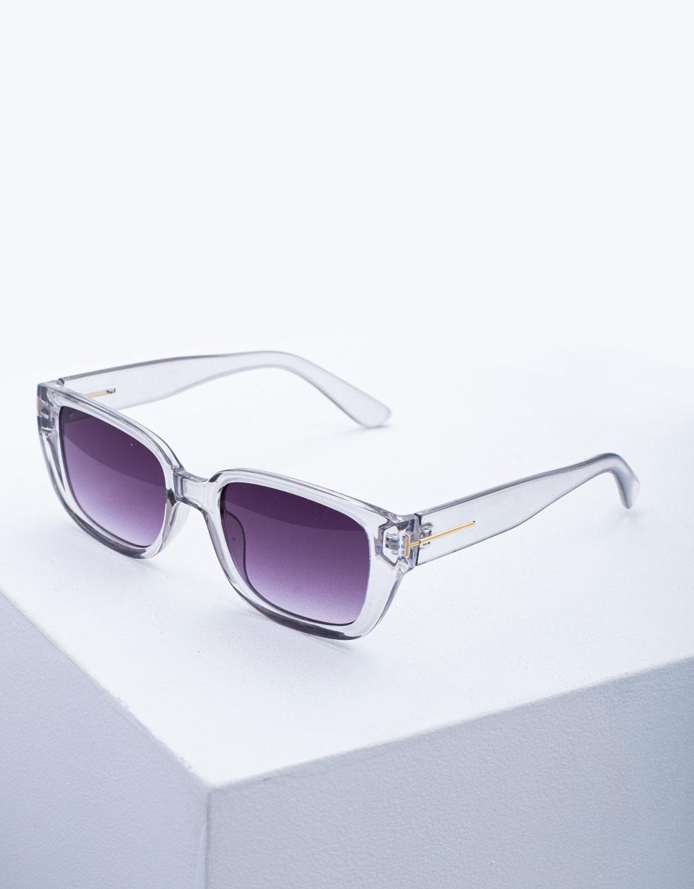 Εικόνα από Γυναικεία γυαλιά ηλίου σε τετράγωνο σχήμα Φυσικό