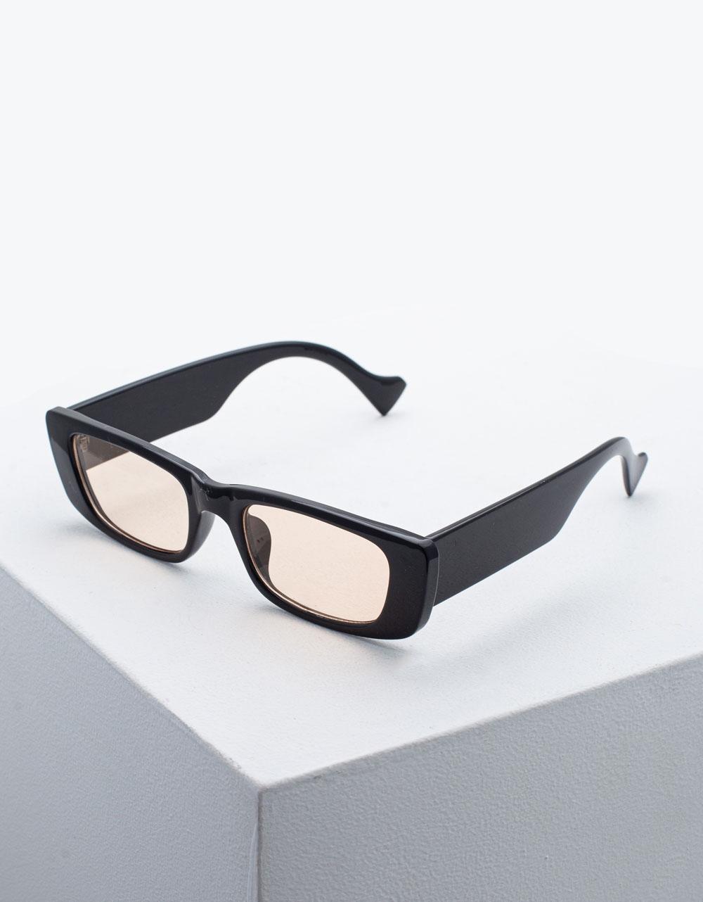 Εικόνα από Γυναικεία γυαλιά ηλίου Μπεζ