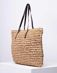 Εικόνα από Γυναικεία τσάντα χειρός ψάθινη Πούρο