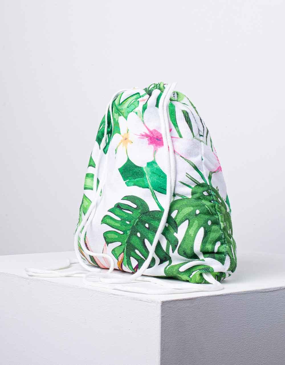 Εικόνα από Πετσέτα θαλάσσης backpack Πράσινο