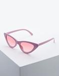 Εικόνα από Γυναικεία γυαλιά ηλίου σε σχήμα πεταλούδας Ροζ