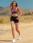 Εικόνα από Γυναικείο σετ σόρτς & αθλητικό μπουστάκι Multi