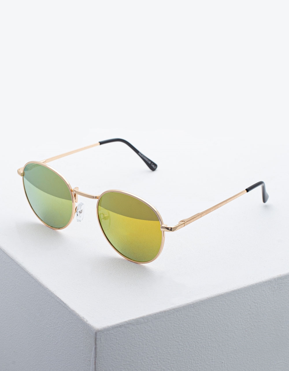 Εικόνα από Γυναικεία γυαλιά ηλίου με χρωματιστούς φακούς Πράσινο
