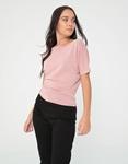 Εικόνα από Γυναικεία μπλούζα σε λεπτή ύφανση Ροζ
