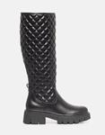 Εικόνα από Γυναικείες μπότες καπιτονέ με chunky σόλα Μαύρο
