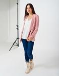 Εικόνα από Γυναικείο blazer με τσέπες Ροζ