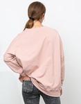 Εικόνα από Γυναικείο φούτερ ασύμμετρο Ροζ