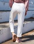 Εικόνα από Γυναικεία φόρμα μονόχρωμη Λευκό