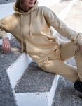 Εικόνα από Γυναικείο σετ oversized μονόχρωμο Μπεζ