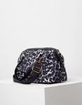 Εικόνα από Γυναικεία τσάντα animal print Μαύρο